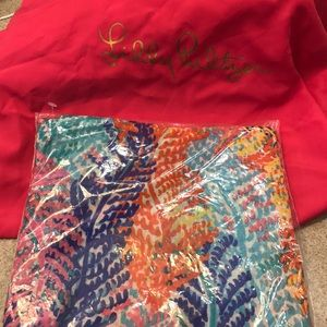 Lilly Pulitzer Wrap/Scarf Multicolor New